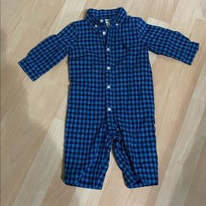 Polo Ralph Lauren Boys Lined Coverall 3 months